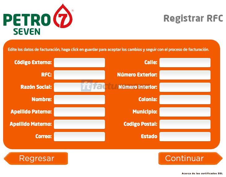 Petro 7 Facturacion 3 Gasolineras