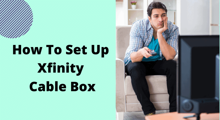 how to set up xfinity cable box