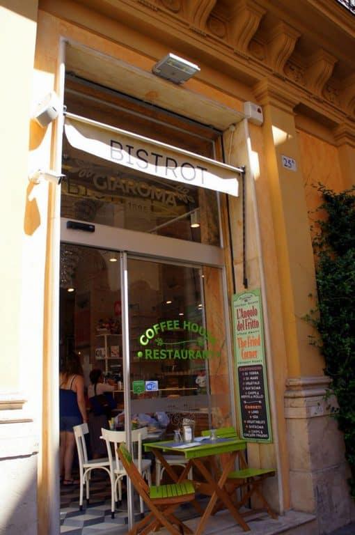 el Café Gia Roma 1886