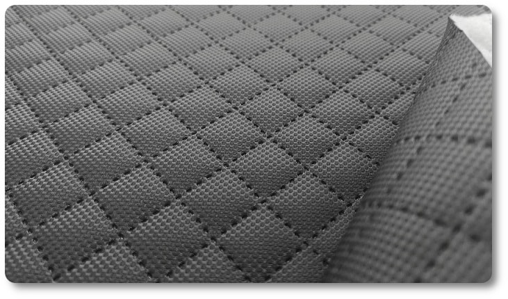 skaj pikowany na tapicerkę jachtową