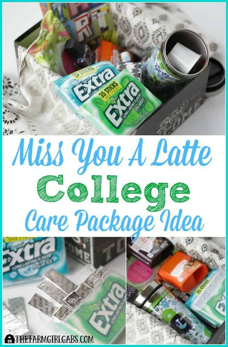 Show your college student you care by sending them this Miss You A Latte College Care Package. AD #GIVEEXTRAGETEXTRA #Walgreens