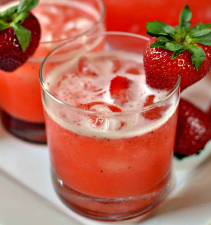 How to make Strawberry Lemonade