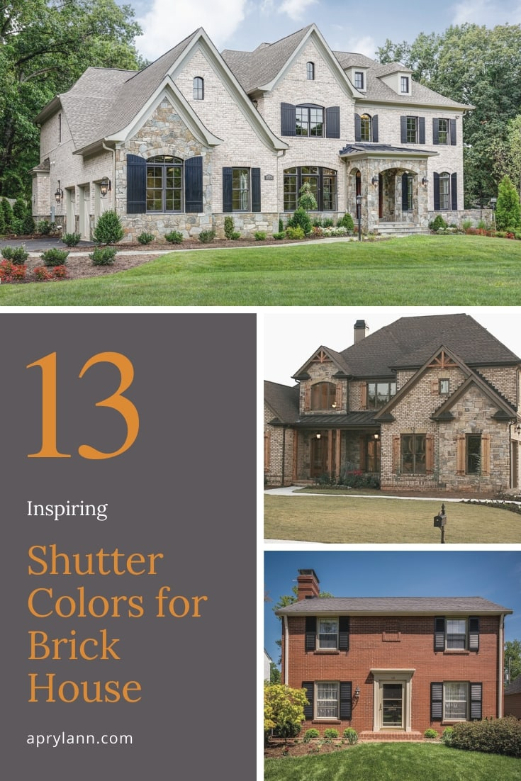Shutter Colors For Brick House