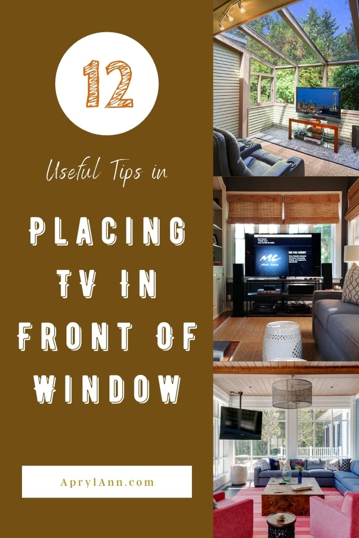 12 Useful Tips In Placing TV In Front Of Window