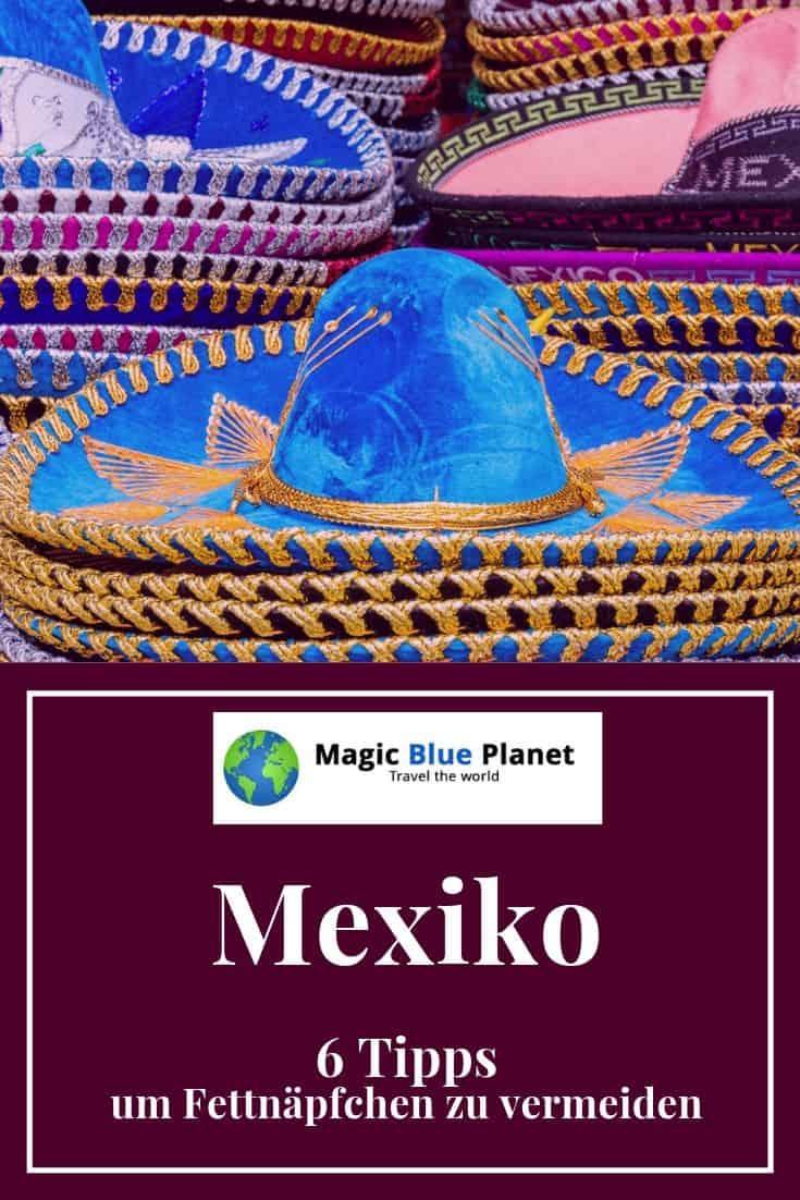 Verhaltenstipps in Mexiko - Pin 1