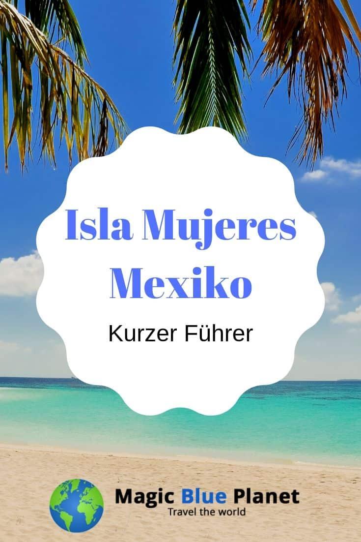 Isla Mujeres Guide Pin 1 DE