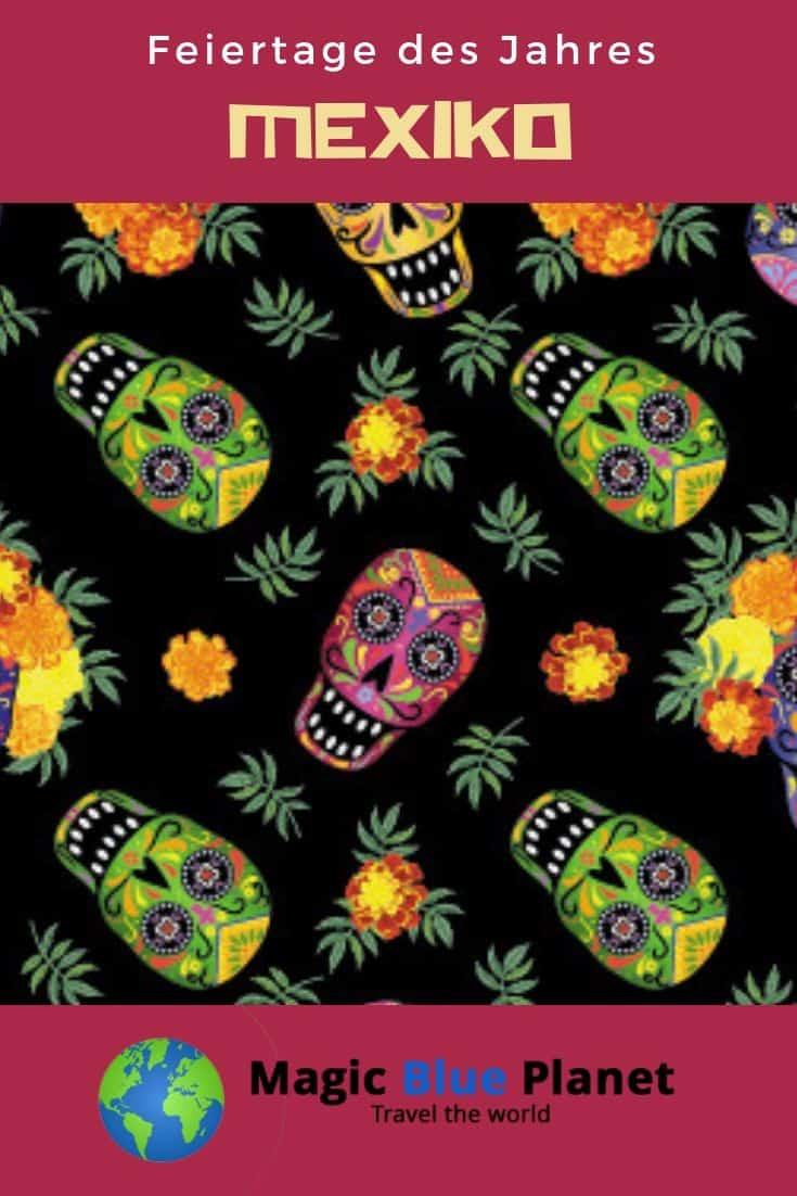 Mexico Holidays Pin 2 DE