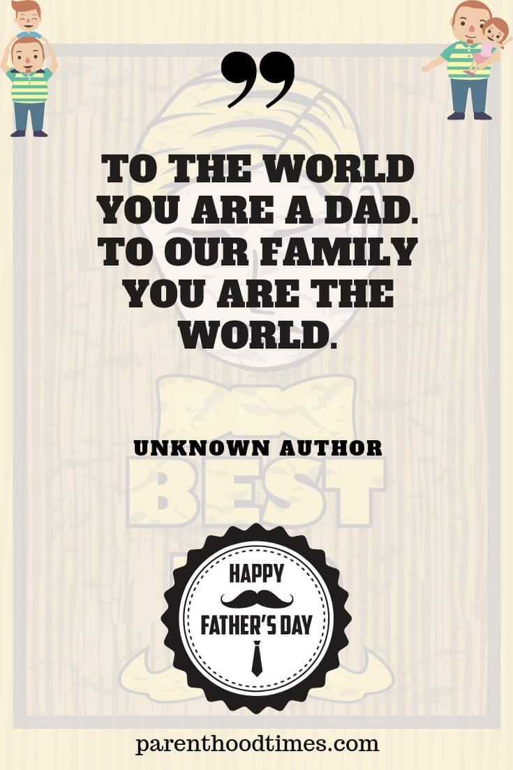 unforgettable Father's Day quote