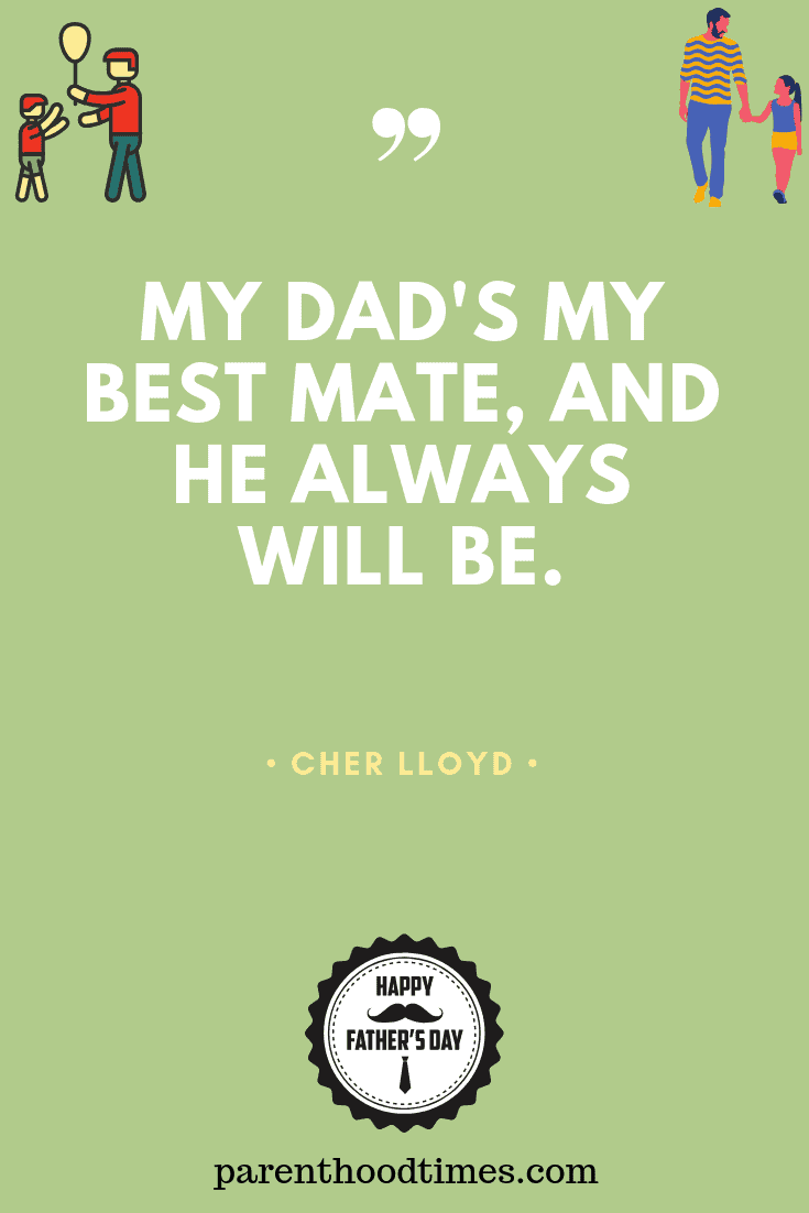 sweet Father's Day quote