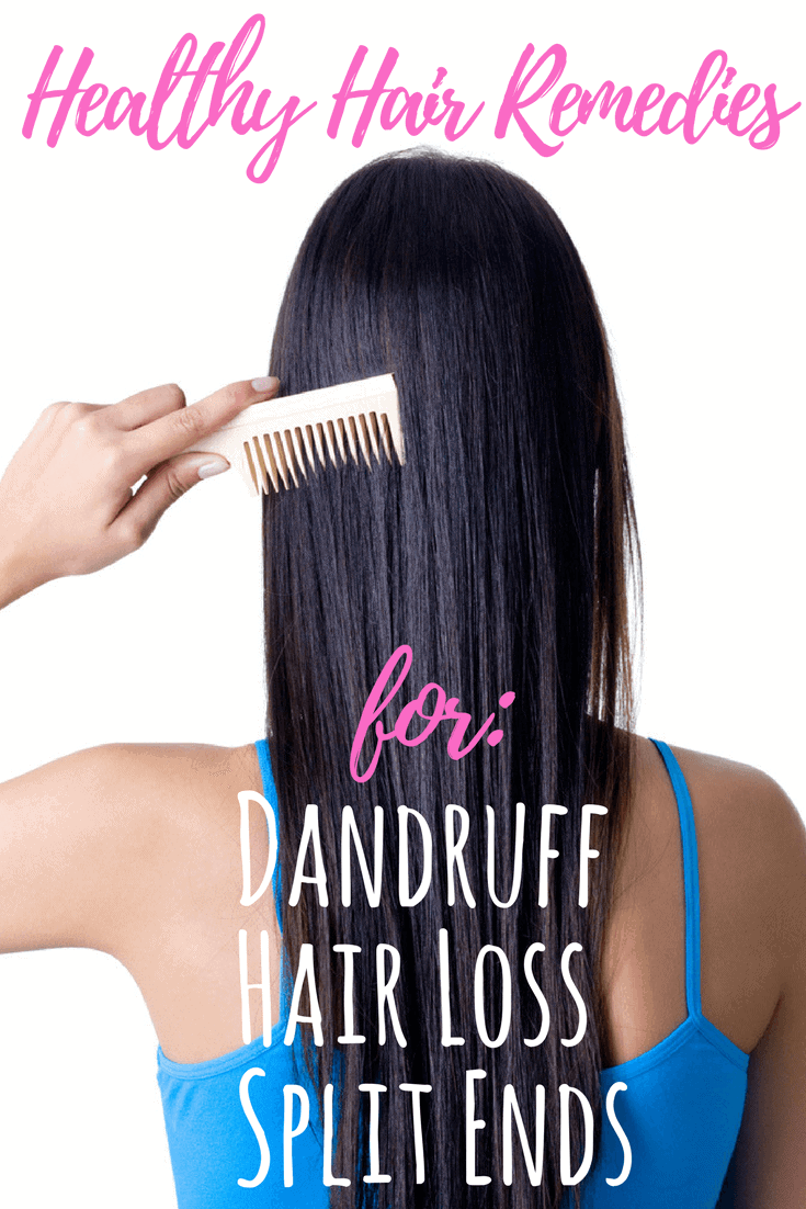DIY hair care fits whatever plagues you. These recipes for healthy hair are fast, easy, and non-toxic. Pick and choose to fit your own hair needs. #hairgrowth, #hairloss #haircare #healthyhair #dandruff #shampoonatural