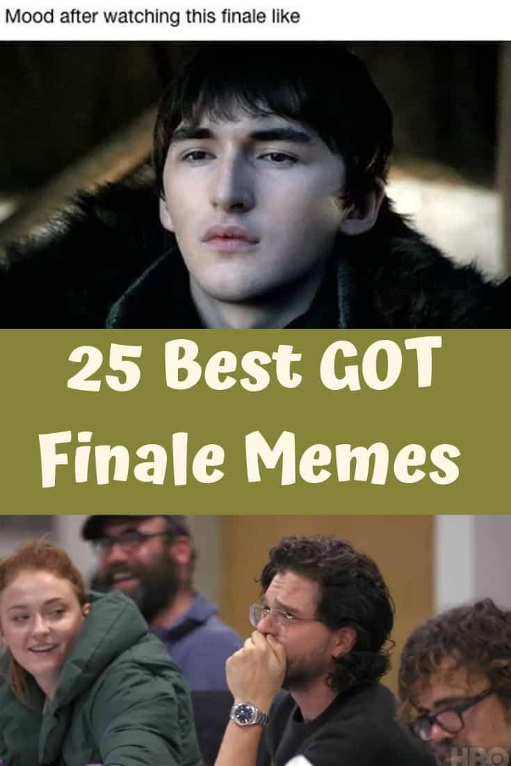 25 Best GOT Finale Memes
