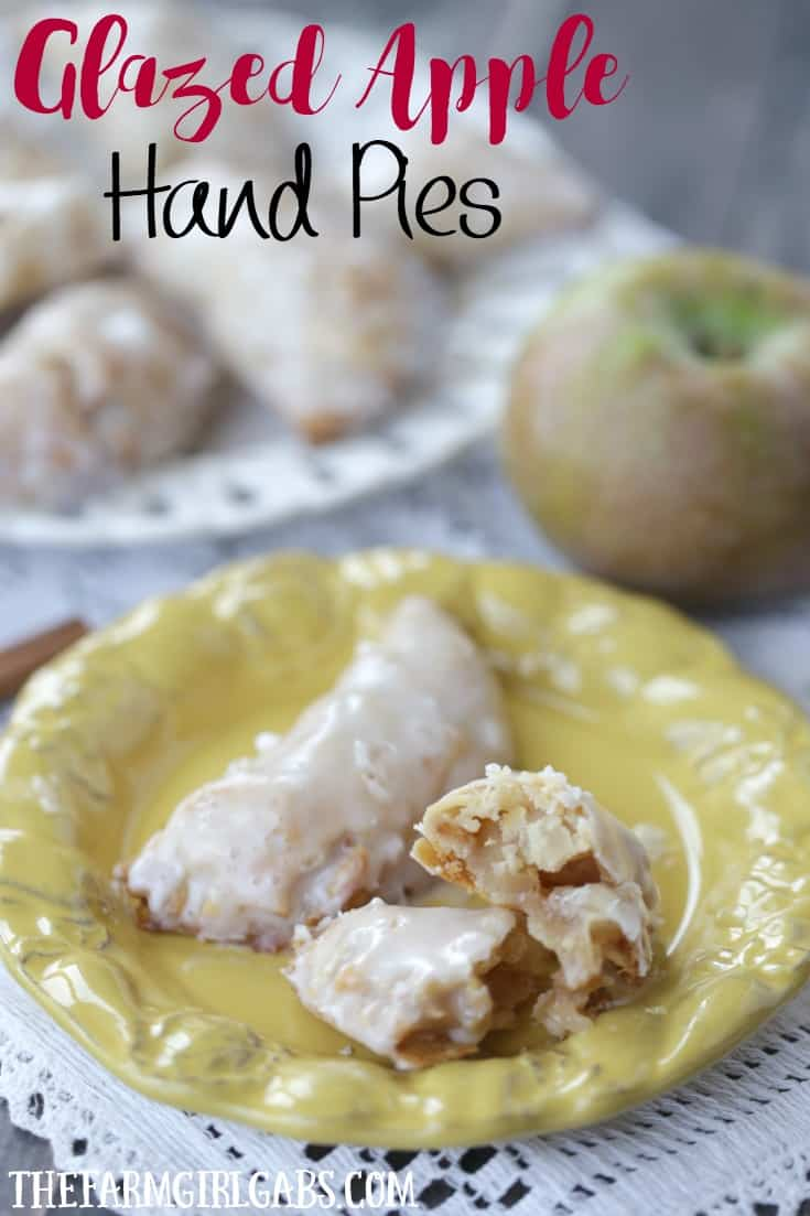 These sweet and simple Glazed Apple Hand Pies are the perfect fall treat. This easy recipe is ready in 30 minutes flat.