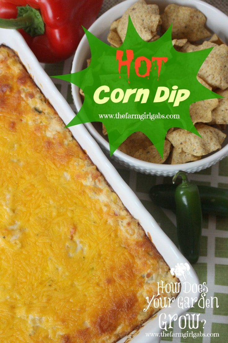 This Hot Corn Dip recipe is sure to please your guests on game day or any party occasion.