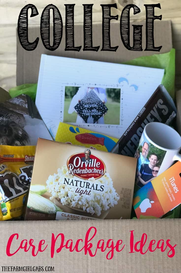 Send some love from home to your college student. Here are some Tips For Creating The Ultimate College Care Package. #Ad