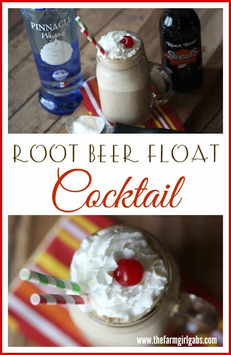 Root Beer Float Cocktail blends the traditional cold root beer with creamy vanilla ice cream. Whipped cream vodka is added to give this adult drink an extra kick.