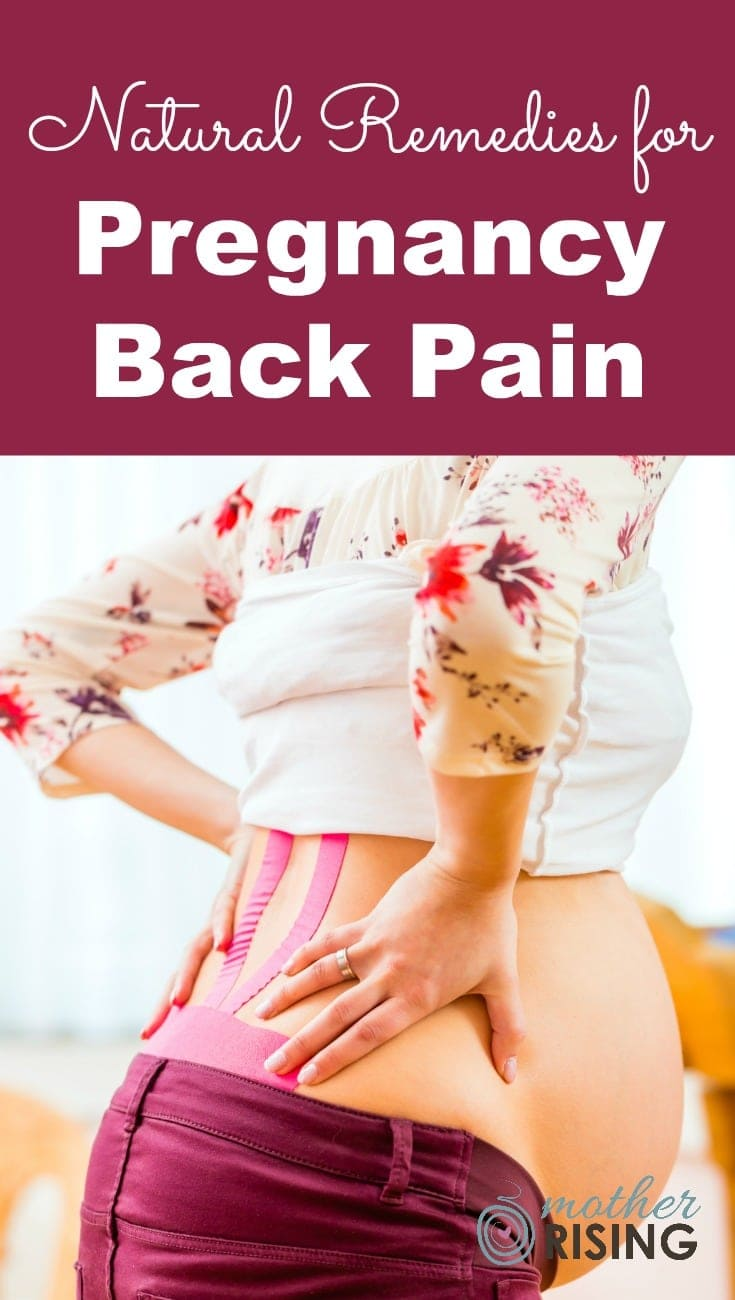 What's causing your pregnancy back pain? Here are 13 natural remedies to resolve the underlying cause of pregnancy back pain and alleviate pain.