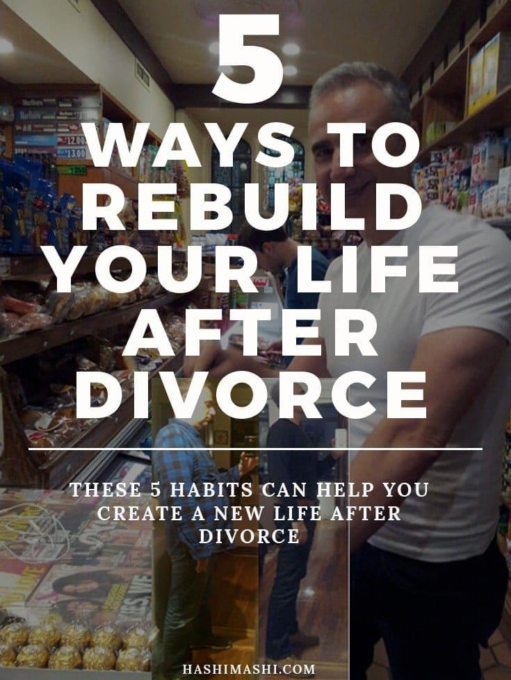 rebuild your life after divorce