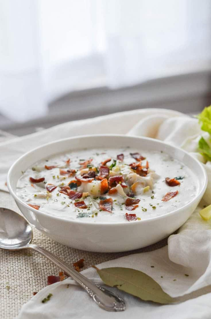 How To Make Awesome New England Clam Chowder!
