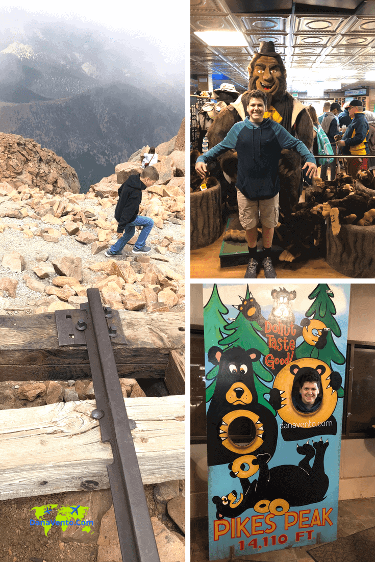 Pikes Peak Summit at Top IN Gift Shop