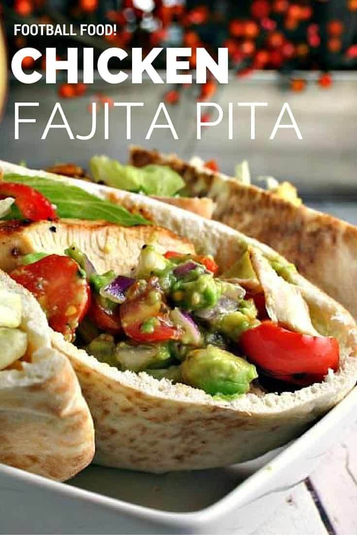 Chicken Fajita Pita | Life, Love, and Good Food