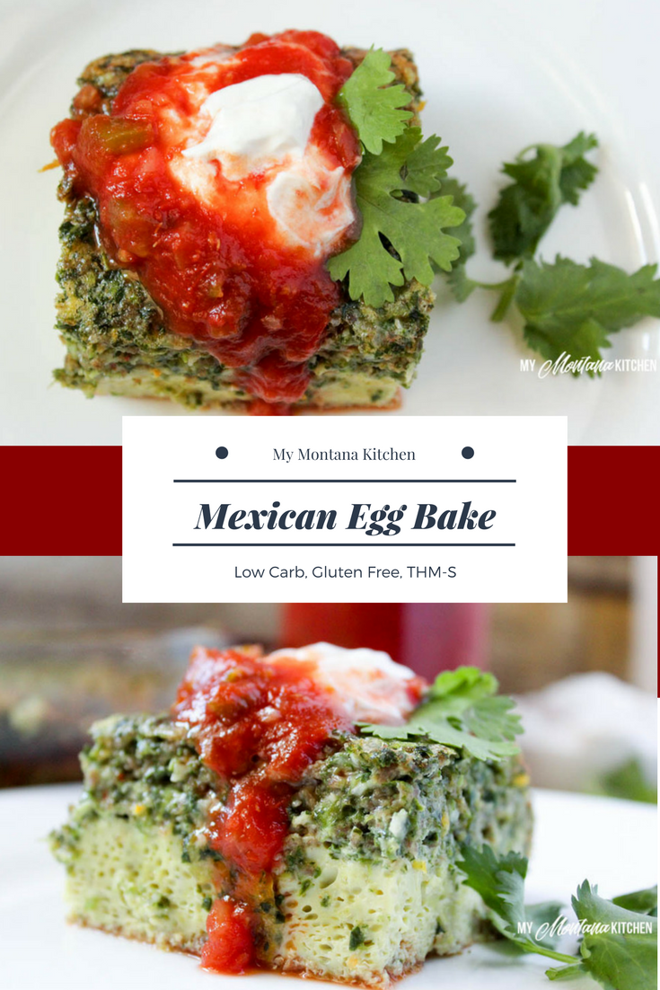Mexican Egg Bake (Low Carb, Gluten Free, THM-S)