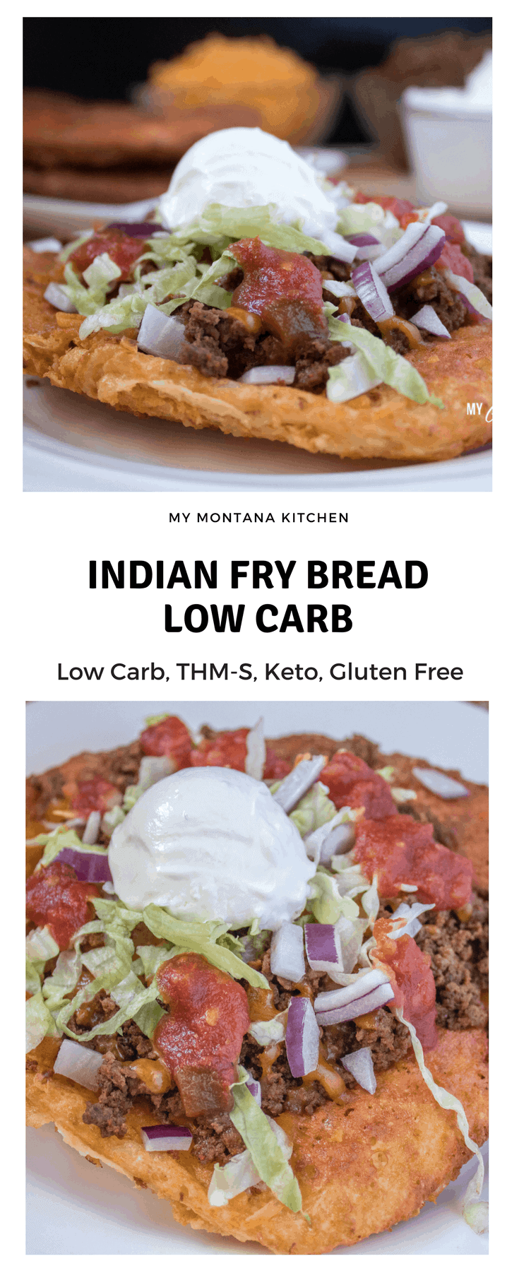 Indian Fry Bread (Low Carb) #trimhealthymama #thm #thms #keto #navajofrybread #indianfrybread #frybread #glutenfree