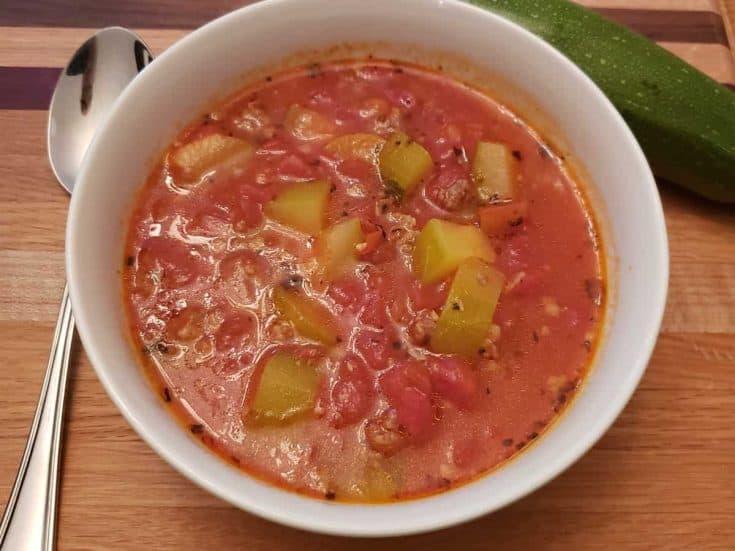 Sausage Zucchini Soup