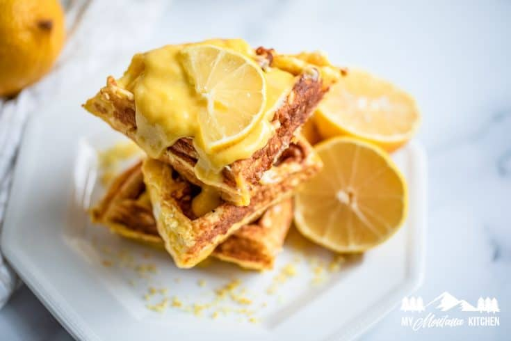 Low Carb Cream Cheese Chaffles