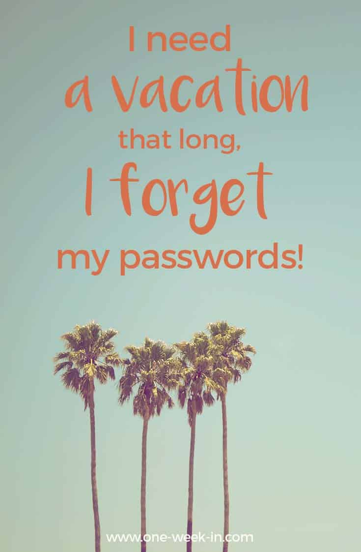 Funny quote about vacation