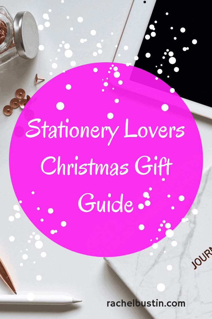 Stationery Lovers Christmas Gift Guide, Pens, Pencils, Journals, Planners, bullet Journal, Office Stationery - See more at rachelbustin.com #stationeryorganization #stationerydesign #stationerypens #stationerystorage