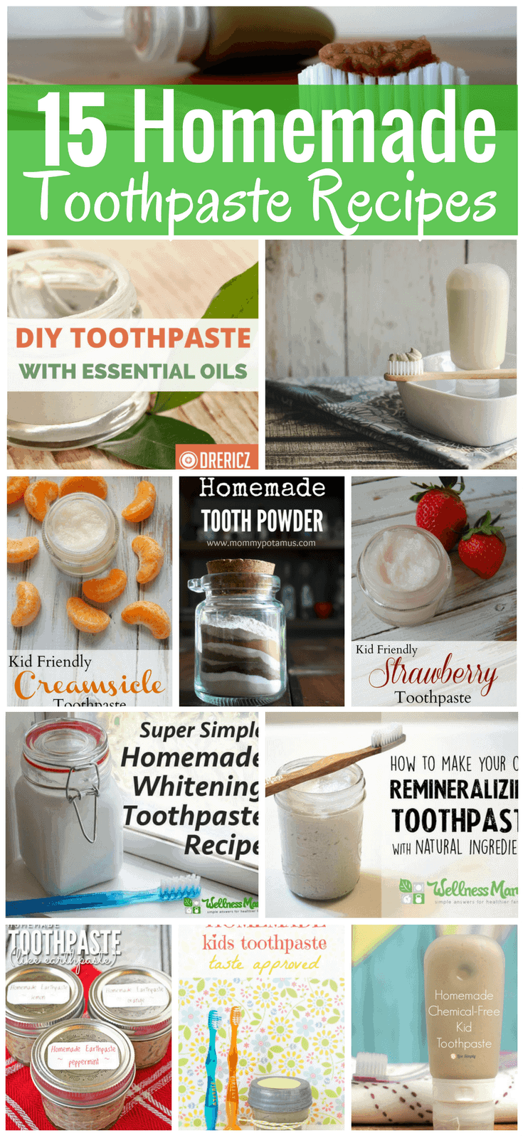 15 Homemade Toothpaste Recipes - Simple