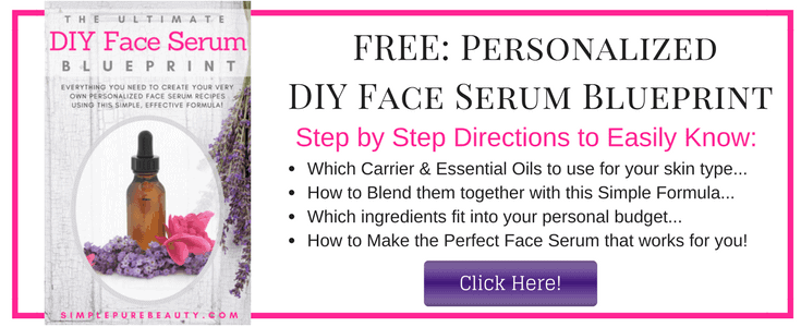 Free Personalized DIY Face Serum Blueprint