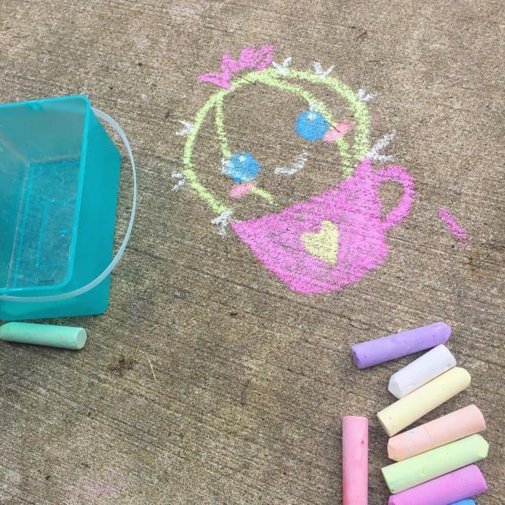 "N I N A + Z E U S's Instagram post: ""Let's buy chalk for the baby 🤣. #friday #funinthesun #niceweather #sidewalkchalk #michaelscraftstore #sidewalkchalkart #sidewalkchalkfun…"""