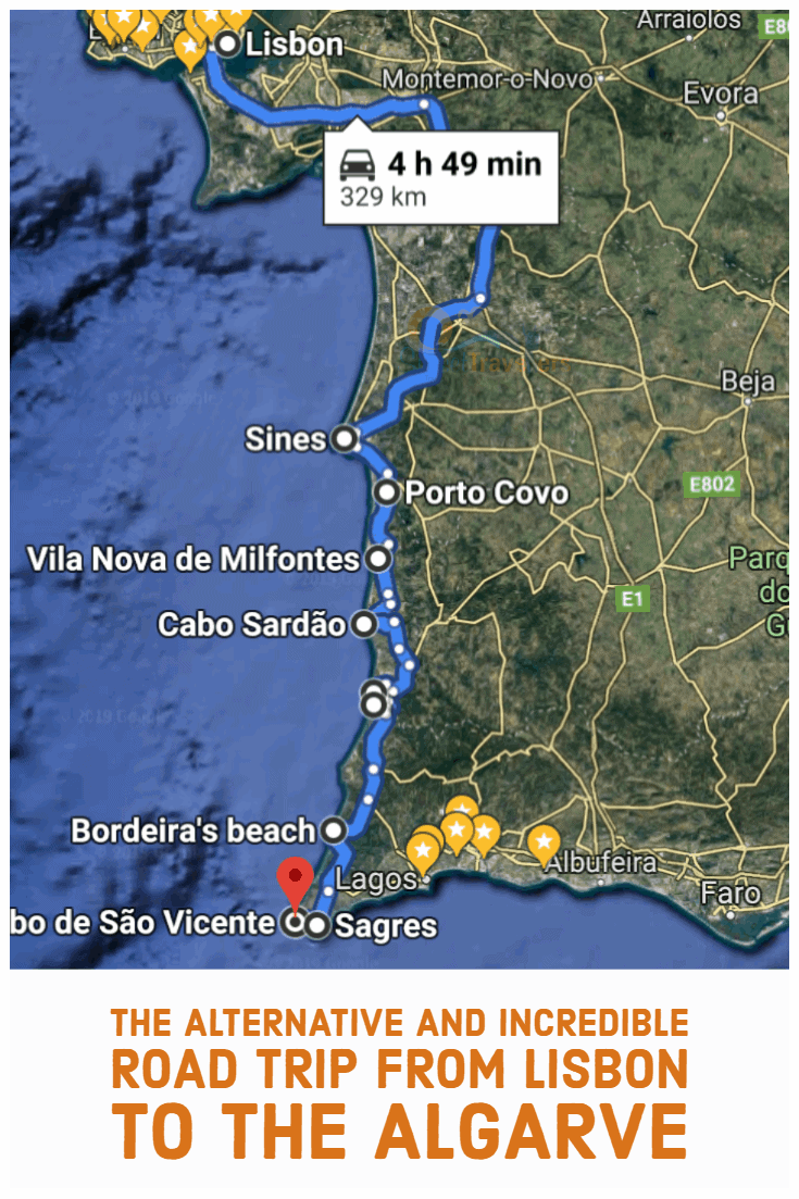 Epic Alternative Portugal Road Trip From Lisbon To Algarve(~ 6 Hours)