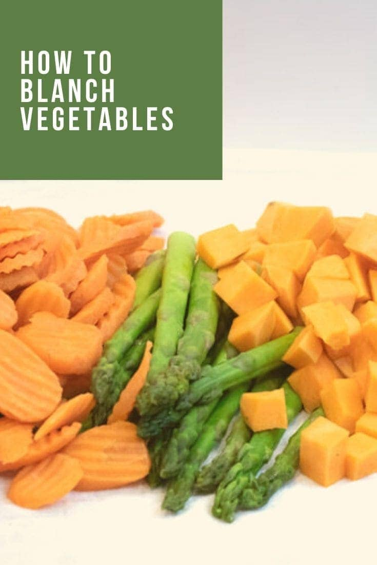 How to Blanch Vegetables to Freeze is your go to source to stop food waste. Here, we will show you how to take what is fresh and in season and keep it all year long by freezing it. #howtoblanchvegetablestofreeze #freezingvegetables #blanchingvegetables