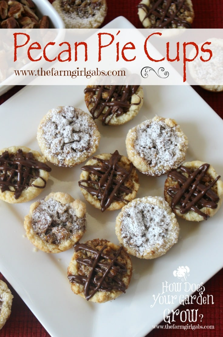 Pecan Pie Cups - Pinterest