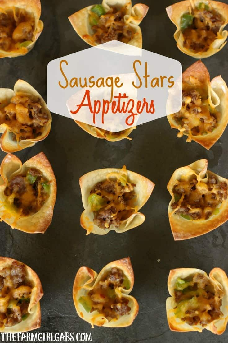 Celebrate your special occasion with this easy Sausage Stars Appetizers recipe.