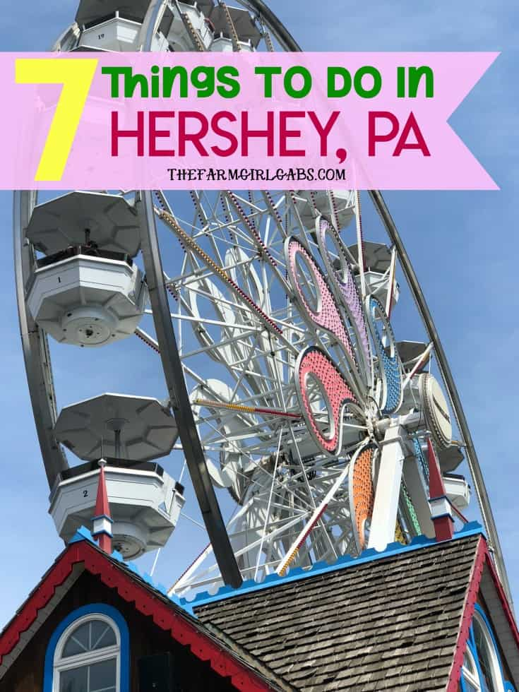 "Planning a visit to the ""sweetest place on earth?"" Be sure to check out these Seven Things To Do In Hershey while you are there. #HersheyPA, #FamilyTravel #VisitPA, #travel #Vacation #TravelIdeas #FamilyTravelIdeas #Kids"