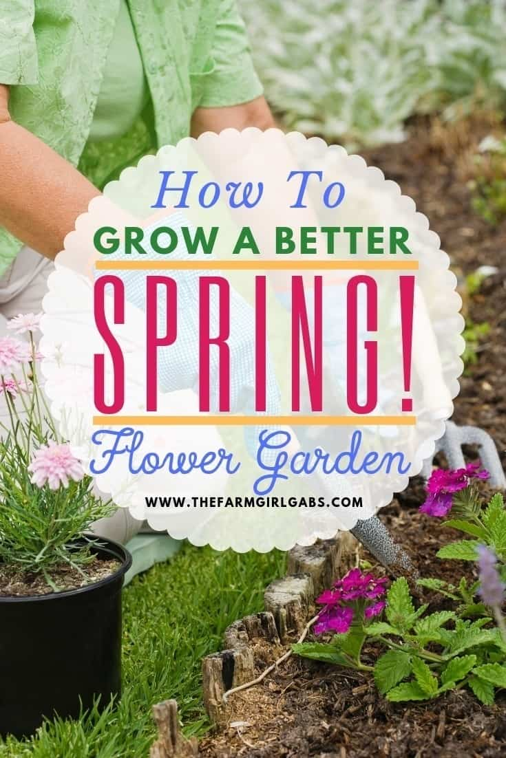 It's never too early to start planning your spring flower garden. These helpful tips for a better Spring Flower Garden with get your garden growing in no time. Be sure to check out these helpful spring gardening tips. #gardeningtips #gardens #gardeningideas