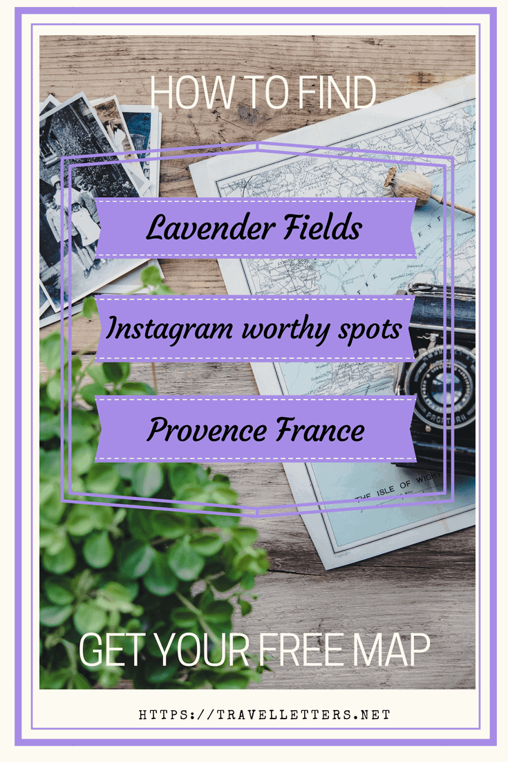 Get a free map of Instagram worthy spots on Valensole Plateau in Provence France. Find the best lavender and sunflower fields