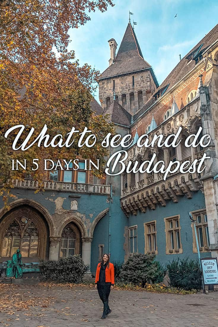 5 days in Budapest: There are plenty of things to do in Budapest and there's a lot no matter what activities you like! Here's the top attractions to start with!