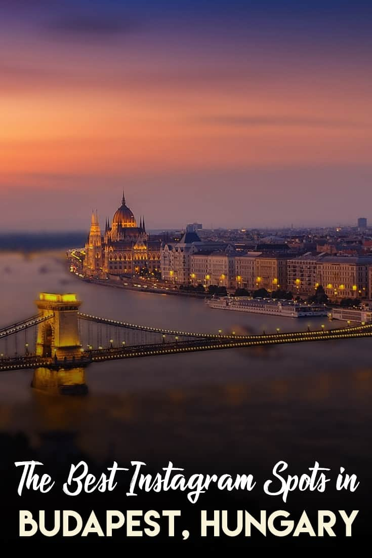 The most Instagrammable places in Budapest. The most photogenic places in Budapest. A list of all the places you must visit in your trip to Budapest.
