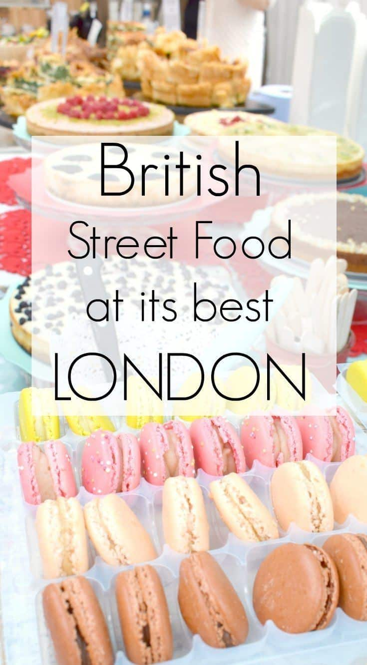 British Street Food at it's best. Lets take a look at some of the amazing British street food on offer at London's food fairs and markets, starting with brilliant, multicultural Greenwich