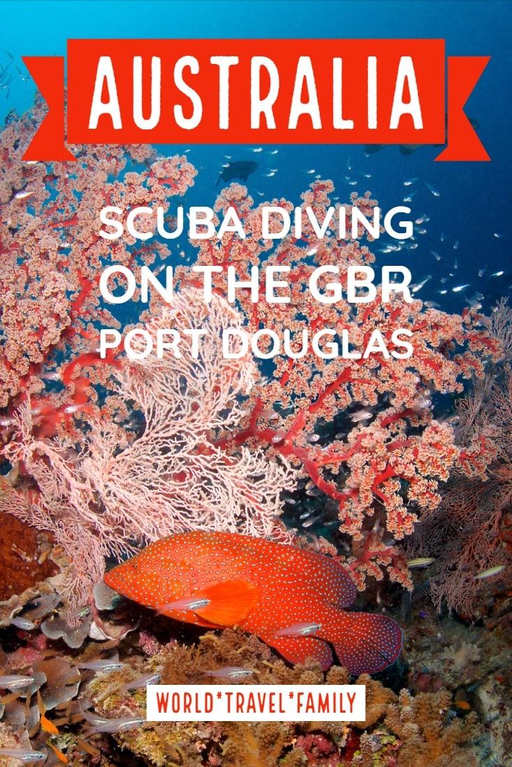 Australia Scuba Diving on the Great Barrier Reef Port Douglas