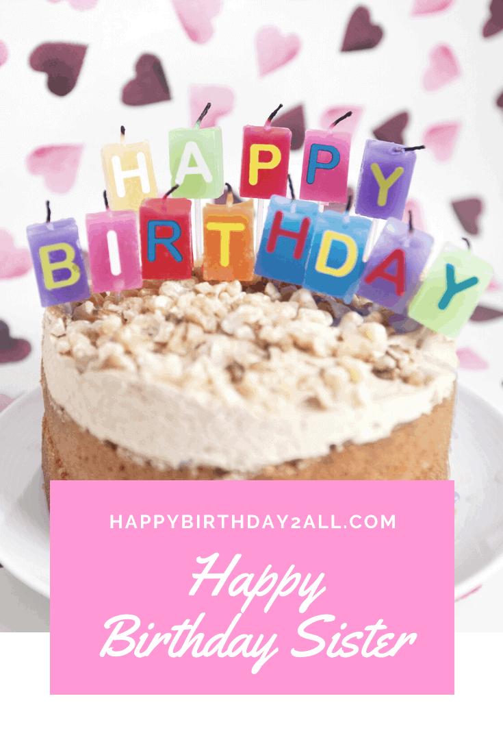 Strange Unique Happy Birthday Little Sister Cake Jameslemingthon Blog Funny Birthday Cards Online Ioscodamsfinfo