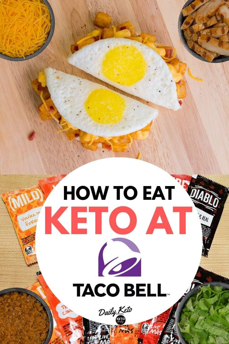 how to eat keto taco bell menu