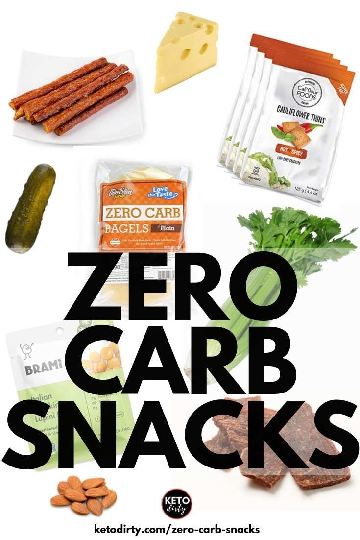 zero carb snacks for keto diet