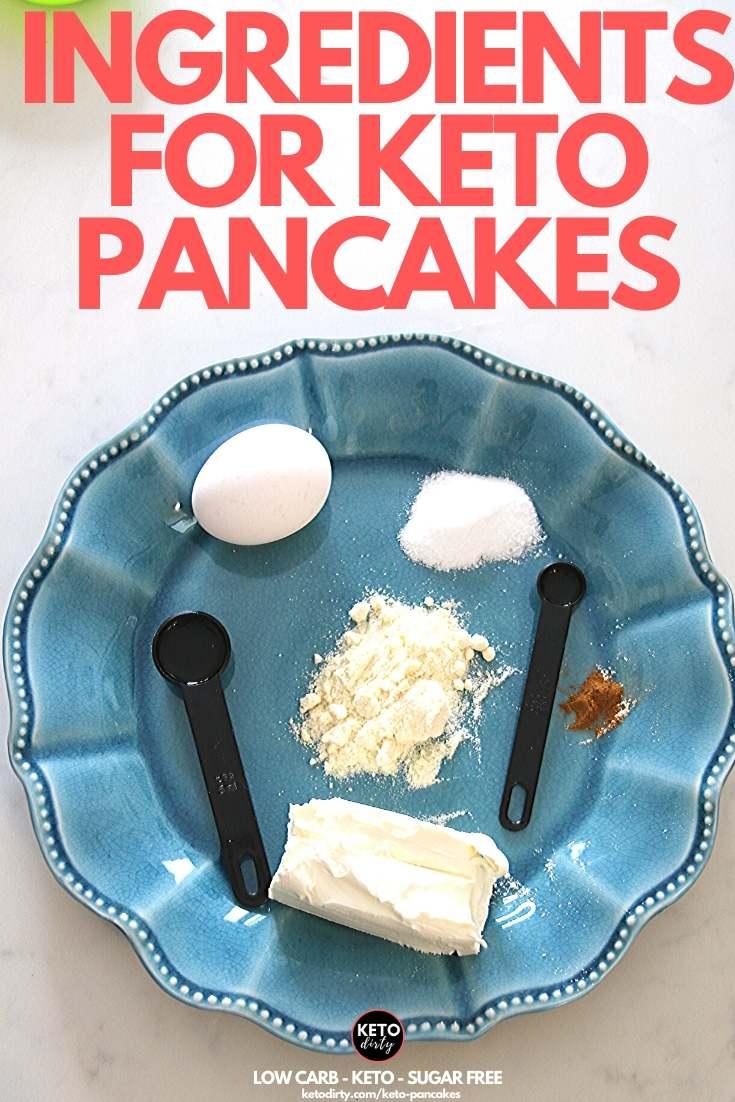 keto pancake ingredients