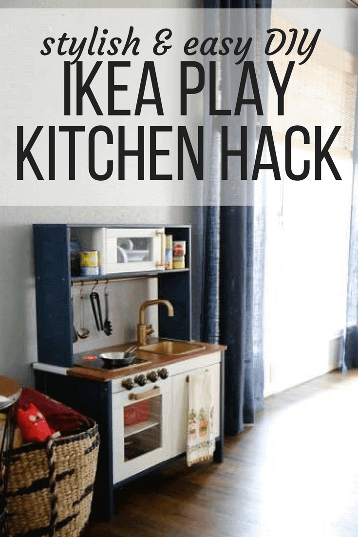 IKEA Play Kitchen Hack: How to Make the
