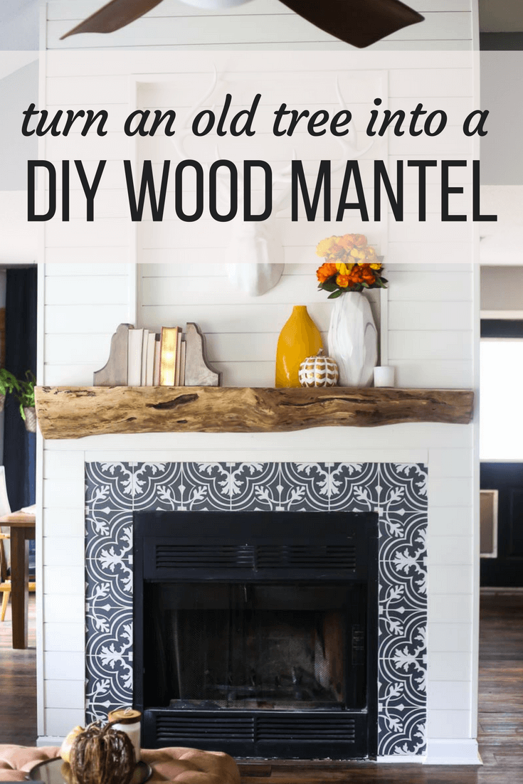 how to build a diy mantel